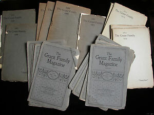 THE-MATTHEW-GRANT-FAMILY-MAGAZINE-LOT-GENEOLOGY-amp-HISTORY-ARTHUR-HASTINGS
