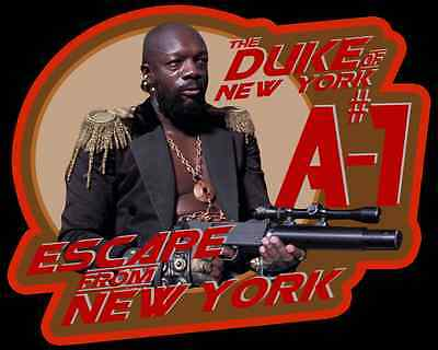 """80's Cult Classic Escape From New York """"The Duke of New York A#1"""" custom tee"""