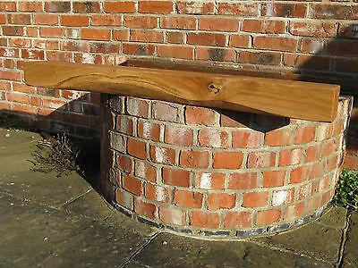 Rustic OAK beam, mantle , lintel or floating shelf, HEAVILY WORKED, 1200mm long.