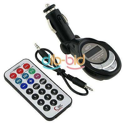 Car MP3 Player FM Transmitter For SD/MMC/USB/CD LCD Display