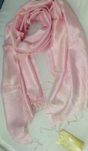 100-Pure-Silk-Luxury-Shawl-Scarf-Wrap-Good-Size