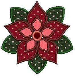 Janome Quilting Embroidery Designs : Floral Applique Quilt Block Machine Embroidery Designs 5x7 CD Brother Janome etc eBay