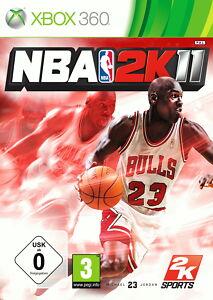 NBA 2K11        (Microsoft Xbox 360, 2010, DVD-Box)     New      Neuware
