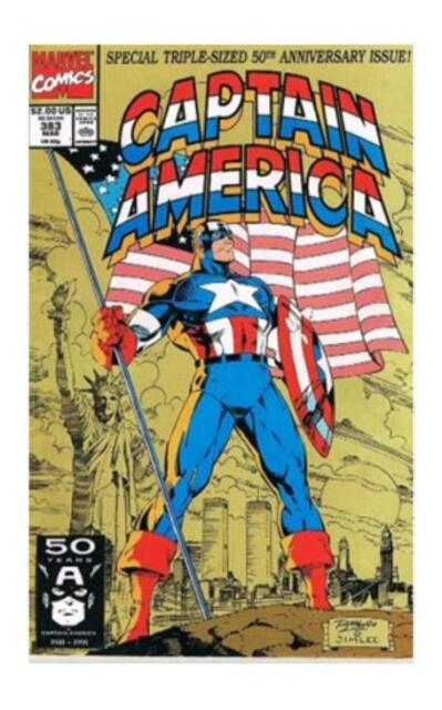 Captain America #383 (Mar 1991, Marvel)