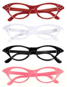 50s-PINK-LADY-ROCK-N-ROLL-FANCY-DRESS-COSTUME-GLASSES