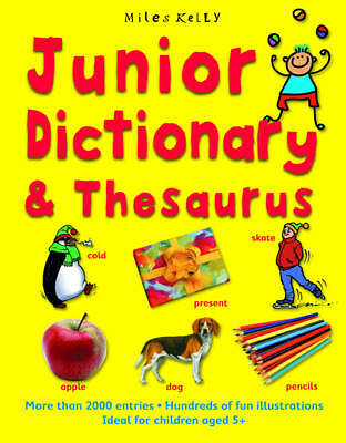 """AS NEW"" Junior Dictionary and Thesaurus, Susan Purcell, Cindy Leaney, Book"