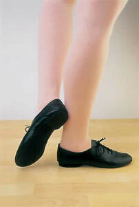 Jazz-Modern-Leather-Dance-Shoes-Full-Rubber-Sole