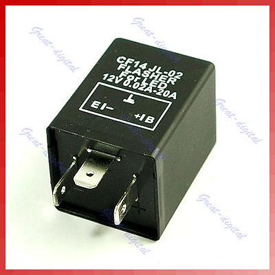 Electronic LED Relay Fix Flasher Blinker Turn Signals