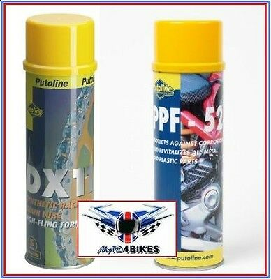 DX11 Motorcycle  Chain Lube + Winter Protection Spray