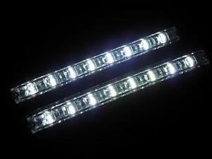 2x-LED-16-SMD-TFL-DRL-Tagfahrlicht-E4-Zulassung-Ford-VW-Bus-T3-T4-T5-6000K