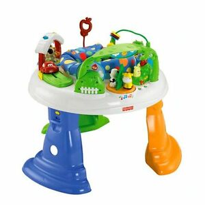 Fisher-Price-Twirlin-039-Wirlin-039-Jumperoo-Baby-Bouncer-Entertainer