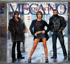 MECANO-2-CD-ANA-TORROJA-JOSE-NACHO-made-in-the-EU-1998-raro-FUORI-CATALOGO