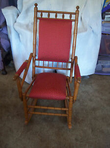 Maple-Bamboo-Style-Rocker-Rocking-Chair-R136