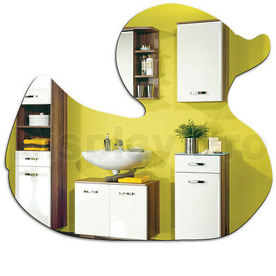 Rubber Duck Acrylic Mirror - Home Bathroom Bedroom Childrens Wall Decor