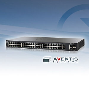 NEW-SLM2048T-NA-Cisco-Small-Business-SG200-50-Managed-Switch-48-Ports-Gigabit