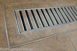 Chameleon Hard Surface Floor Vent Registers For Tile