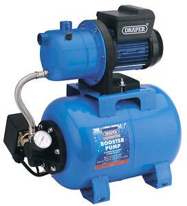 DRAPER-64987-WATER-BOOSTER-PUMP-55L-MIN-800-WATT-24-LITRE-TANK-240-VOLT