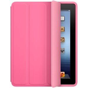 Genuine-Apple-iPad-2-MD456LL-A-Polyurethane-Smart-Case-Cover-PINK-Original