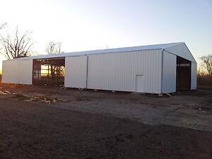 50x90x16 Farm Agricultural Post Building Pole Barn
