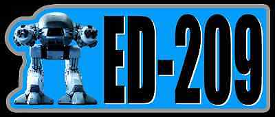 80's Sci-Fi Classic Robocop ED-209 custom tee Any Size Any Color