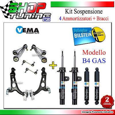 4 AMMORTIZZATORI BILSTEIN + BRACCI - Alfa Romeo 147 1.9 JTD Kw 85 Cv 115