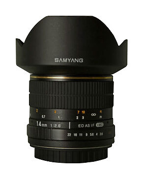 Samyang 14 mm F/2.8 MF UMC IF ASP ED Lens For Canon