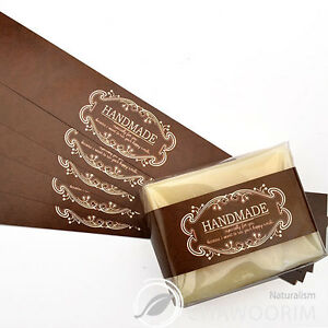 20pcs-Antic-Brown-Label-For-Soap-Baking-Candle-Multi-Purpose-Gift-Packaging
