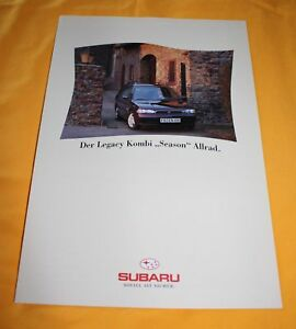 Subaru-Legacy-Kombi-Season-1995-Prospekt-Brochure-Depliant