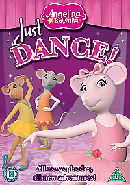 Angelina Ballerina - Just Dance! (DVD, 2010)
