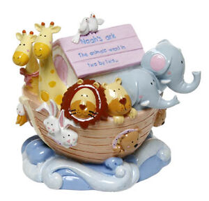 NOAHS-ARK-CHILDRENS-PIGGY-BANK-MONEY-BOX-NEW