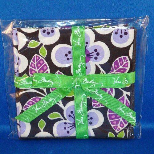Vera Bradley - Cocktail Party Napkins - Set of 4 - Cloth / Fabric - NEW