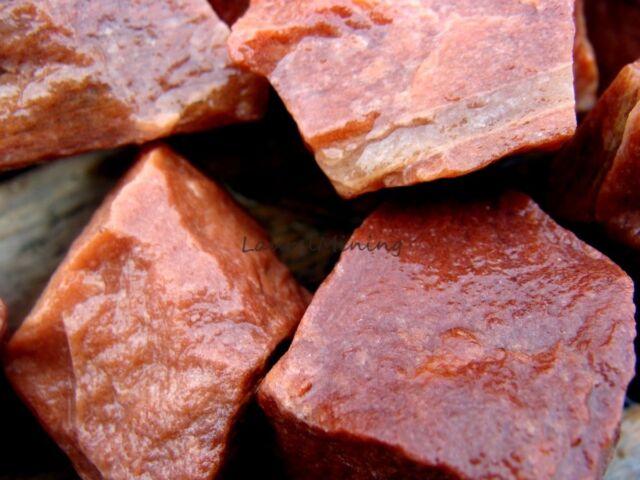 Natural  PEACH AVENTURINE Quartz - 1000 Carat Lot - Lapidary Gemstones Rocks