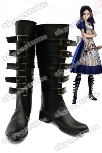 Alice: Madness Returns Default  Stiefel Schuhen Cosplay [DE]