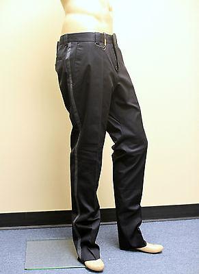 $530 New Authentic GUCCI Mens Casual/Dress Pants EU 54R/US 38 Navy 253340 4440