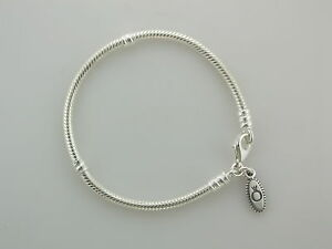 New-Authentic-Pandora-Sterling-Bracelet-W-Lobster-Claw-7-5-in-590700HV-19