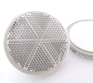 2x-Self-Adhesive-Stick-on-White-Round-Circular-Trailer-Caravan-Reflectors-60mm