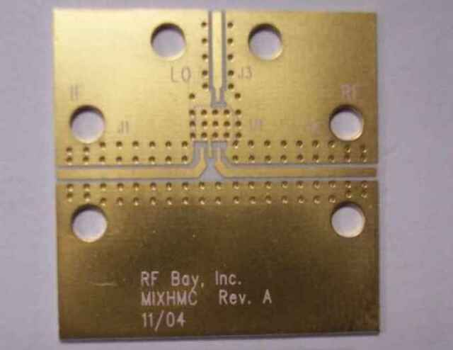Develop PCB Hittite Mixer Rogers RO4350 Material