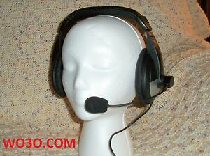 Headset-MIC-FOR-YAESU-FT-847-FT-920-950-1000-mp-2000-JST-145Dx-8-pin-round-conn