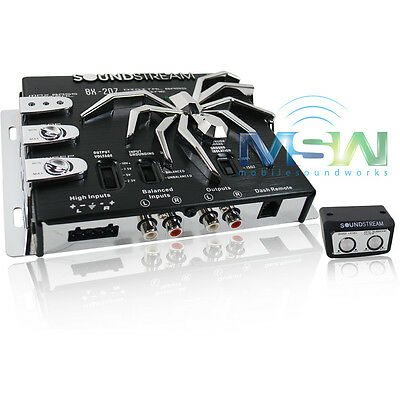 NEW SOUNDSTREAM® BX-20Z DIGITAL CAR BASS BOOST RECONSTRUCTION EQ PROCESSOR BX20Z