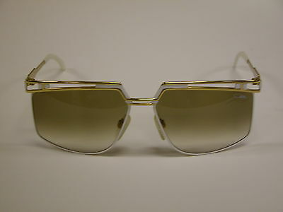 Cazal Vintage Sunglasses- New Old Stock - Model 957 - Col.  332 -  Gold & White
