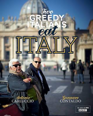 Two Greedy Italians Eat Italy. Antonio Carluccio, Gennaro Contaldo-ExLibrary
