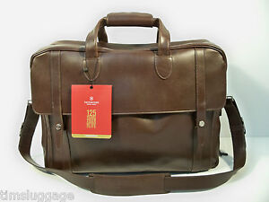 Victorinox 125th Anniversary Limited Travel Bag Leather Carry-On, Only 125 Made! | eBay