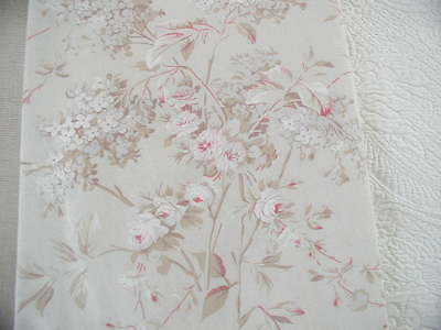 Rachel Ashwell Shabby Chic ™  CHELSEA  PINK TAUPE Jeanne D'arc Living Look! 1 Yd