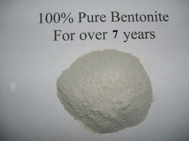 2 LB 100% PURE BENTONITE CLAY internal & external DETOX