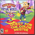JumpStart 3D Virtual World: Quest for the Color Meister Jewel Case (PC, 2008)