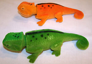 6-BOBBING-HEAD-LIZARDS-new-moving-lizard-novelty-toy-PLAY-reptiles-fake-dash-new