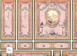World-amp-Model-Relief-34807-Wallpaper-Panel-dollhouse-1pc-1-12-scale