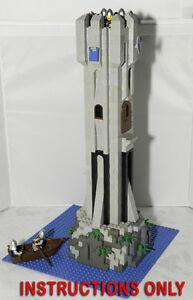 custom lego castle instructions