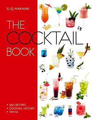 """AS NEW"" Eliq Maranik, Cocktail Book, The, Book"