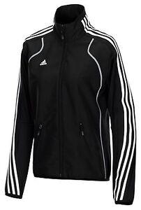 Adidas-Damen-Trainingsjacke-schwarz-Frauen-Sportjacke-Fitness-Gr-XS-S-XL